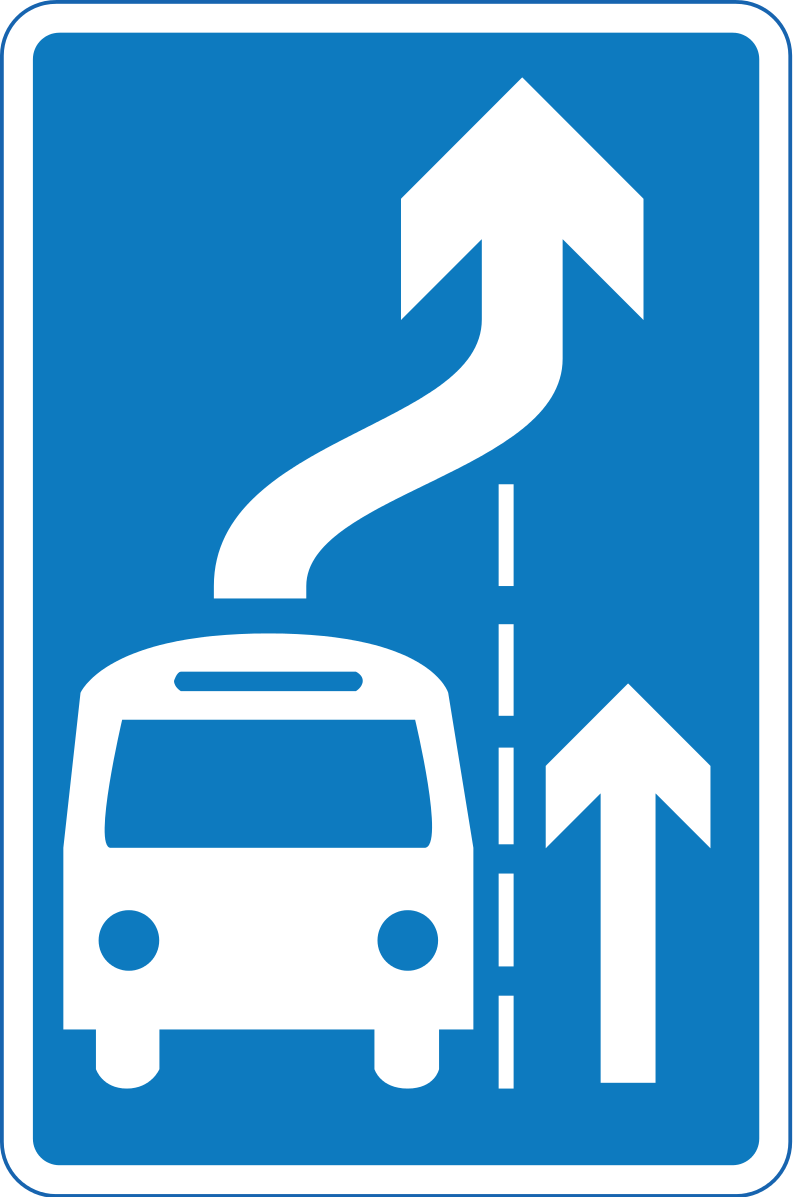 Advisory Give-way-to-buses-exiting-bus-bay rule ahead