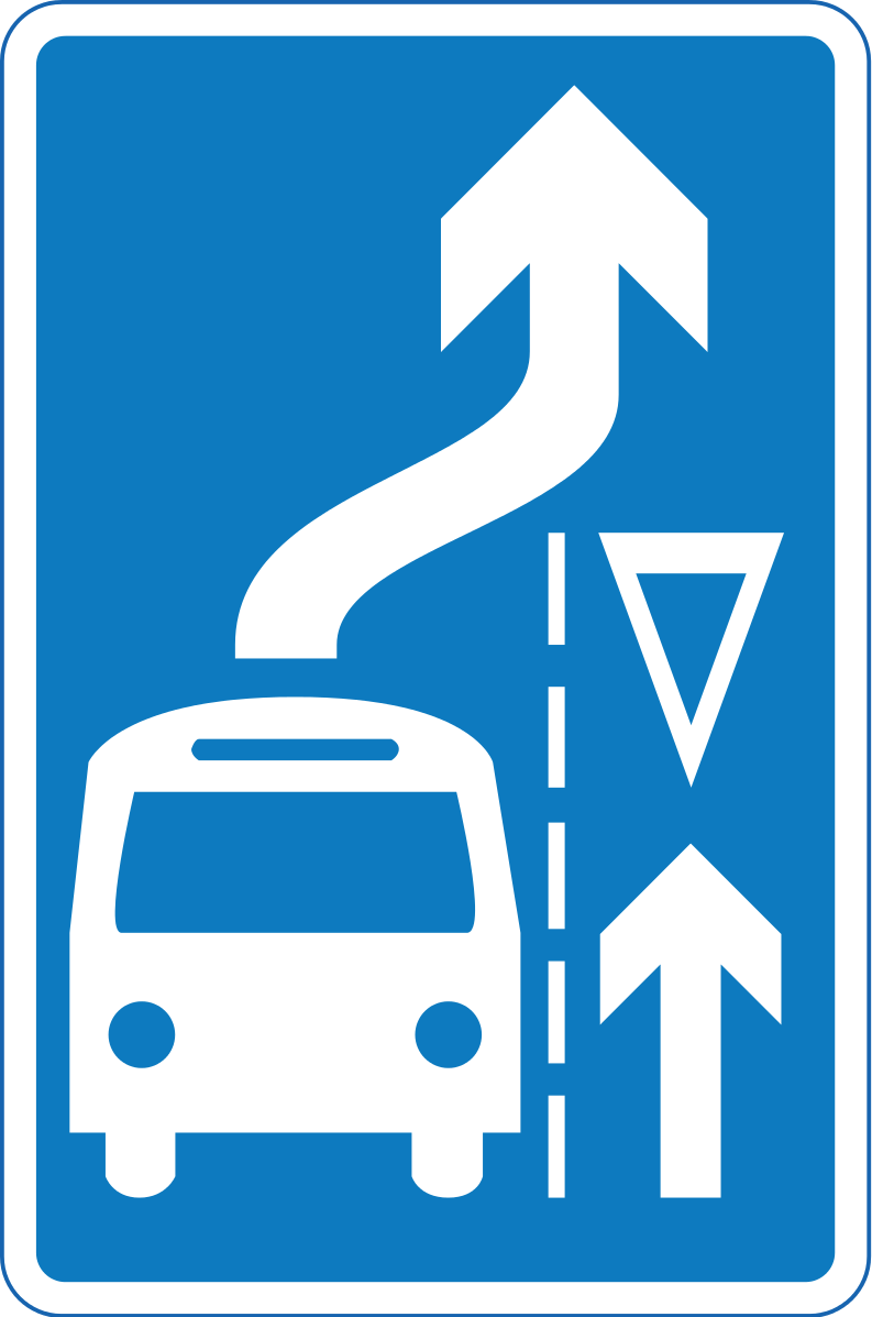 Mandatory Give-way-to-buses-exiting-bus-bay rule ahead