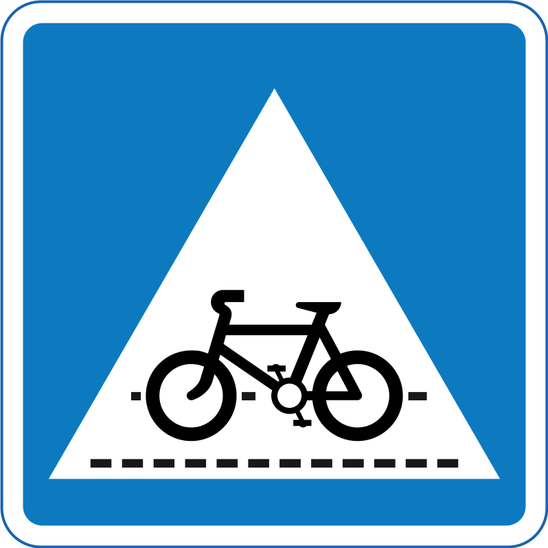 Pedal cycle crossing