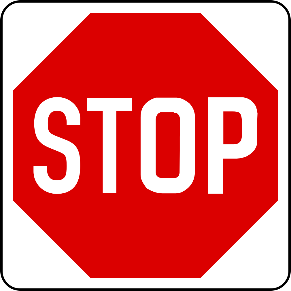 Stop and give way